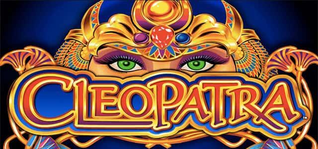 imagen del logo de tragamonedas cleopatra