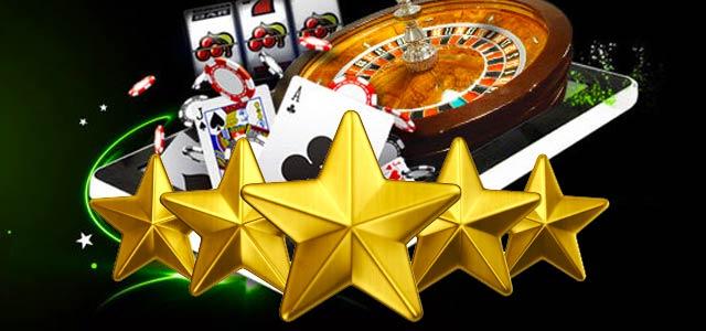 Imagen con un ranking de casinos en español